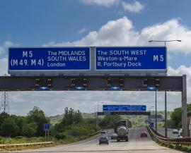 Excellent uncongested motorway & rail links