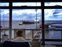 Ship approaching